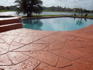Pearland, TX Outdoor Pool Deck