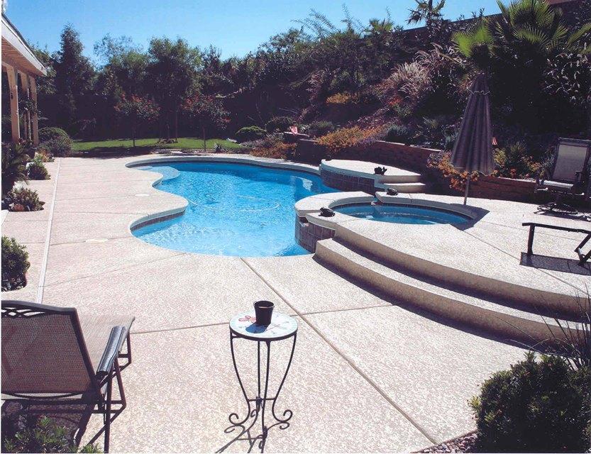 attractive Pool Deck