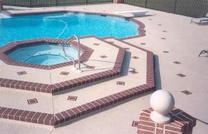 Baytown, TX Pool Deck Installation